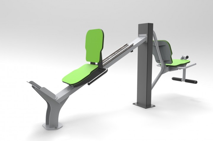 EXER01B LEG PRESS ORIZZONTALE 3