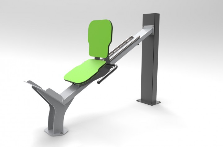 EXER01B LEG PRESS ORIZZONTALE
